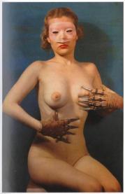 EOF Photoblast- Do What Thou Wilt - Bizarre 1940s Pin Up- Different Yet Kinky