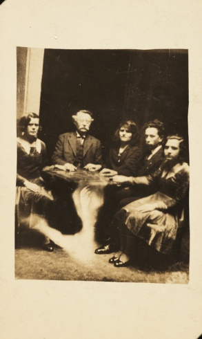 EOF Photoblast- Do What Thou Wilt - The Dead Live With Us (1920s Vintage Snapshot Mystery)