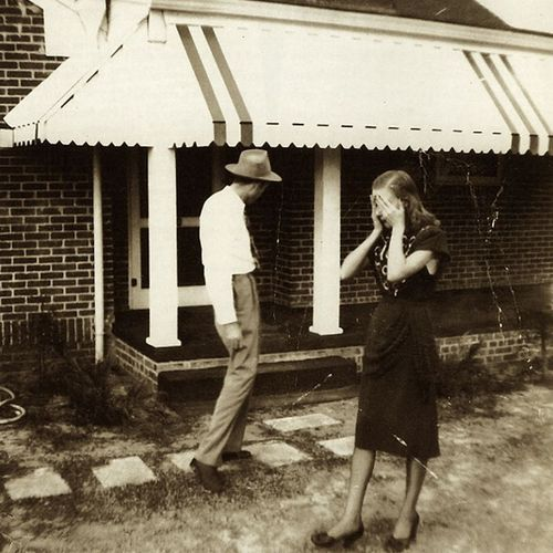 EOF Photoblast- Do What Thou Wilt - The Truth is in the Dirt on the Ground (1940s Snapshot)