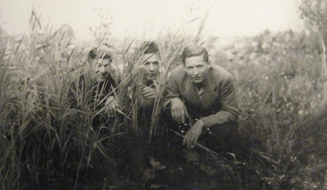 EOF Photoblast- Do What Thou Wilt - They're Hiding in the Bushes - Vintage Male Photograph