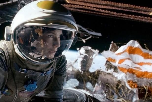 Gravity - Sandra Bullock - Amazing