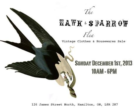 hawk and sparrow flea
