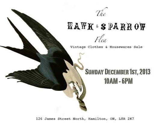 hawk and sparrow flea
