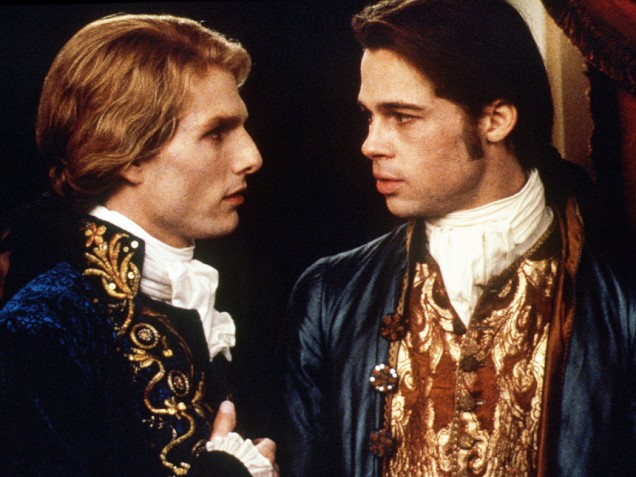 interview with the vampire- 1994- brad pitt and tom cruise- vintage style inspiration- the eye of faith-ii