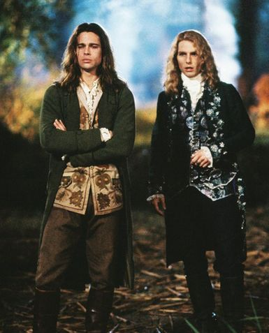 interview with the vampire- 1994- brad pitt and tom cruise- vintage style inspiration- the eye of faith