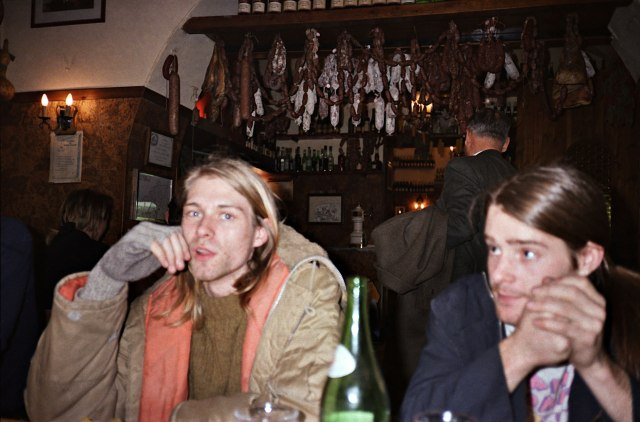 kurt cobain and chad channing- the eye of faith {vintage}