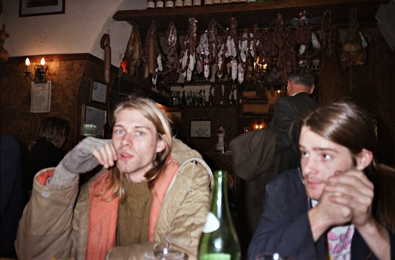 kurt cobain and chad channing- the eye of faith {vintage}
