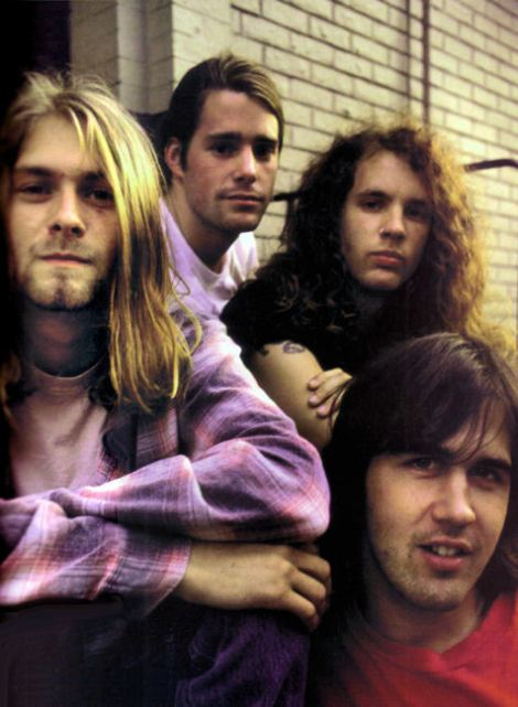 kurt cobain chad channing jason everman krist novoselic- nirvana (1989)- the eye of faith {vintage}