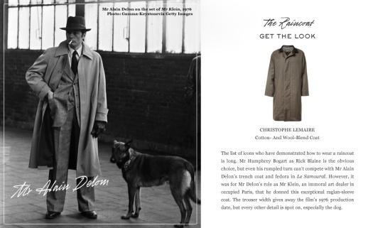 Great Coats- Alain Delon