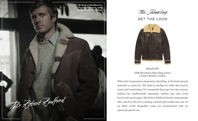 Great Coats- Robert Redford
