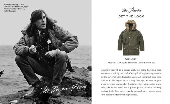Great Coats- Bryan Ferry
