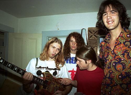 Nirvana+band+in+1990