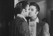 Styled to Rock-Damn I Look Good- King Kisses The Mirror - Vintage Menswear Inspiration- The Eye of Faith