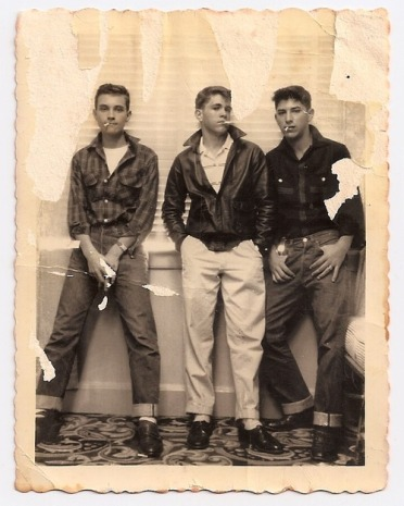 Styled to Rock-The Cool Kids - Vintage Menswear Inspiration- The Eye of Faith