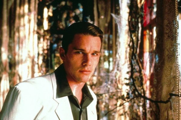 Vintage Men Style- Ethan Hawke in Great Expectations - 1998- The Eye of Faith