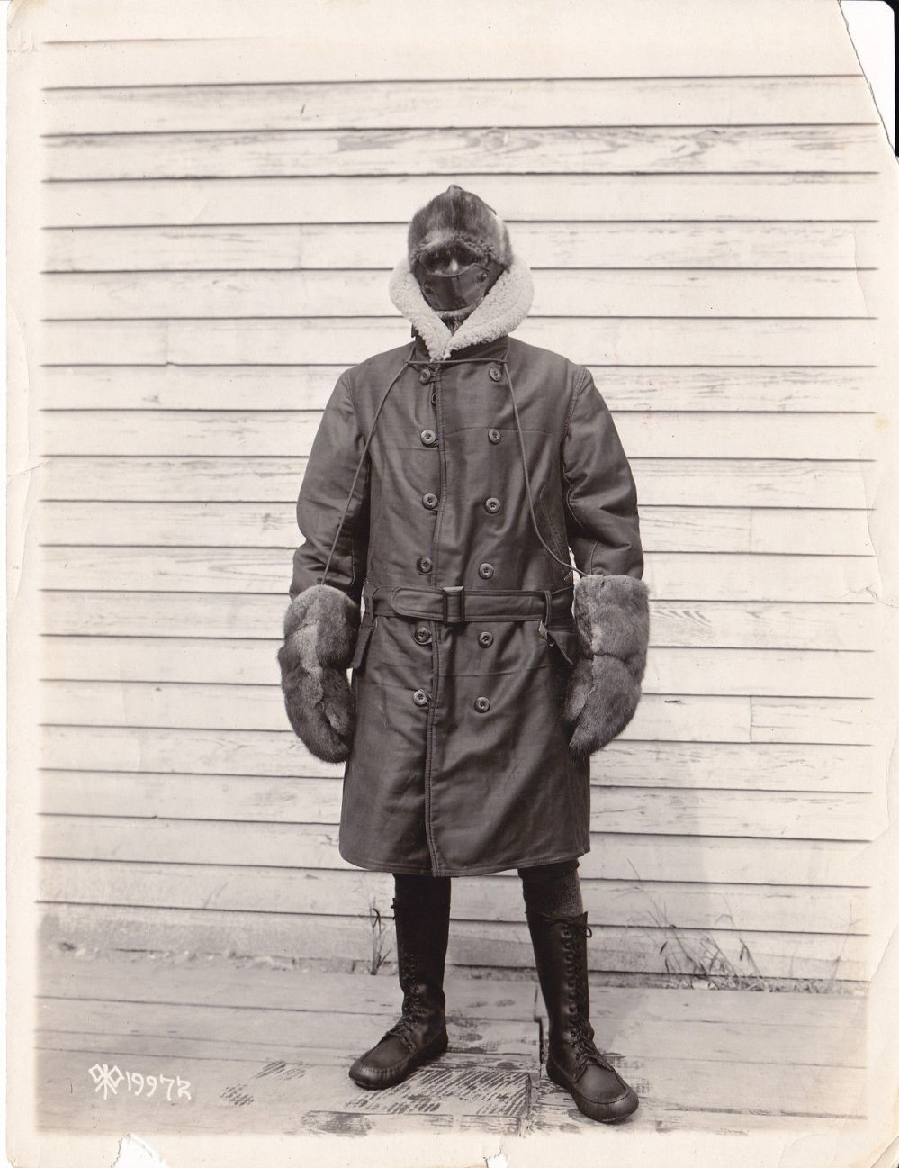 Vintage Winter Menswear Inspiration- The Iceman Cometh- 1920s