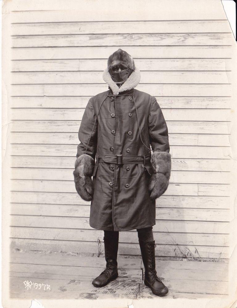 Vintage Winter Menswear Inspiration- The Iceman Cometh- 1920s