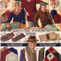 {STYLE WISE} What Men Want To Buy: Rad Sweaters from 1930s Catalogs!