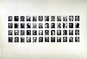 48-Portraits by Gerhard Richter