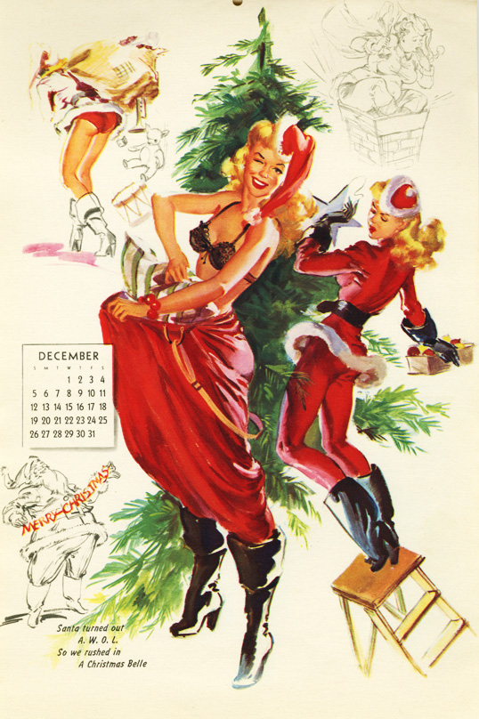 Christmas Pin Up Playthings