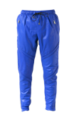 EN NOIR- Pintuck leather sweatpants