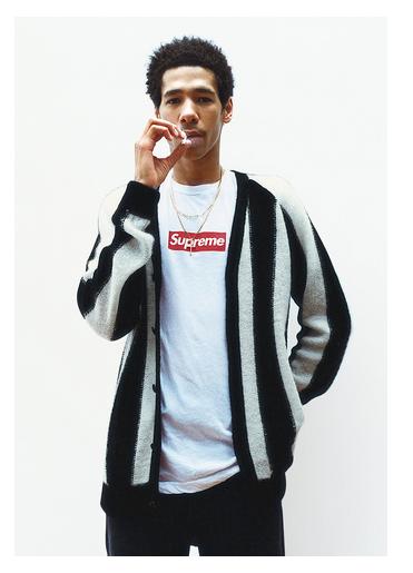 supreme- mohair cardigan f:w 2013