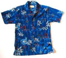 Vintage Midcentury 1960s Aloha Joe Tropical Hawaiian Luxury Beach Resort Party Shirt - XSMALL - $45