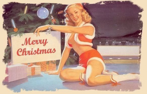 Vintage-Xmas-Pin-up-girls-3
