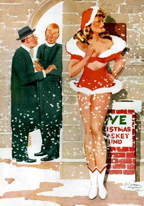 Vintage-Xmas-Pin-up-girls-7