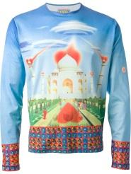 walter van beirendonck vintage taj mahal print t-shirt