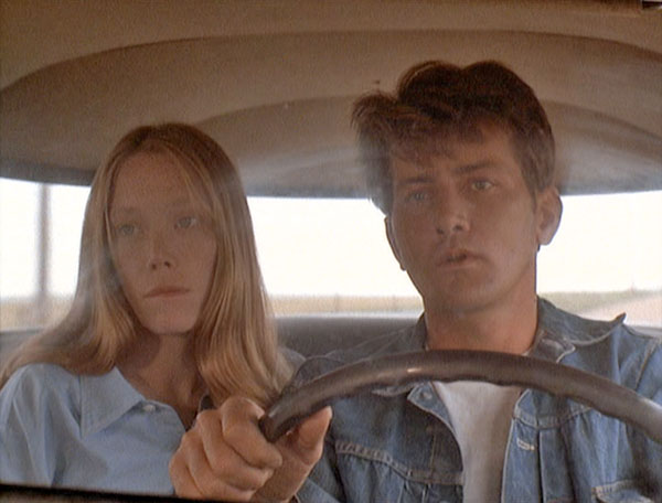badlands-style wise-the eye of faith- vintage- sissy spacek martin sheen on the road