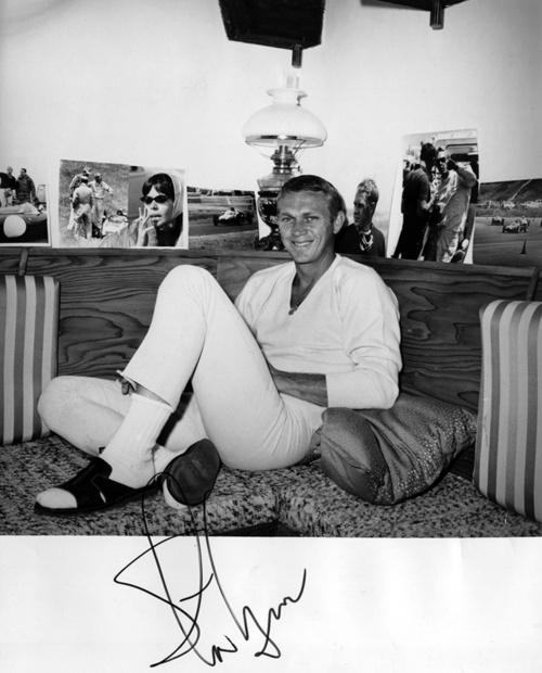 Steve McQueen- Vintage Style Idol- Eye of Faith Vintage-11