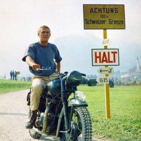 Steve McQueen- Vintage Style Idol- Eye of Faith Vintage-17