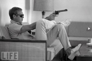 Steve McQueen- Vintage Style Idol- Eye of Faith Vintage-2