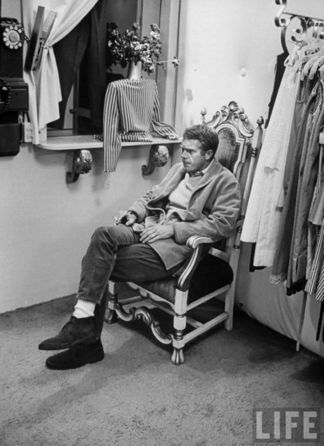 Steve McQueen- Vintage Style Idol- Eye of Faith Vintage-3