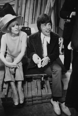 Hats Off to You - Vintage Style Inspiration - The Eye of Faith 5- MICK Jagger and Marianne Faithfull