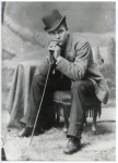 Hats Off to You - Vintage Style Inspiration - The Eye of Faith- Bad Ass Dude in Top Hat