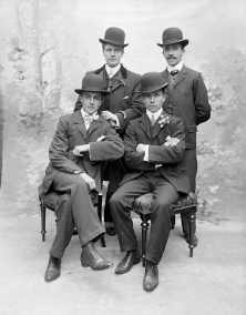 Hats Off to You - Vintage Style Inspiration - The Eye of Faith - Gang in Hats