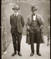 Hats Off to You - Vintage Style Inspiration - The Eye of Faith- Well Dressed Criminals