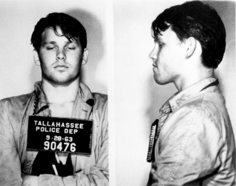 Jim Morrison Bad Ass Mugshot- The Eye of Faith Vintage