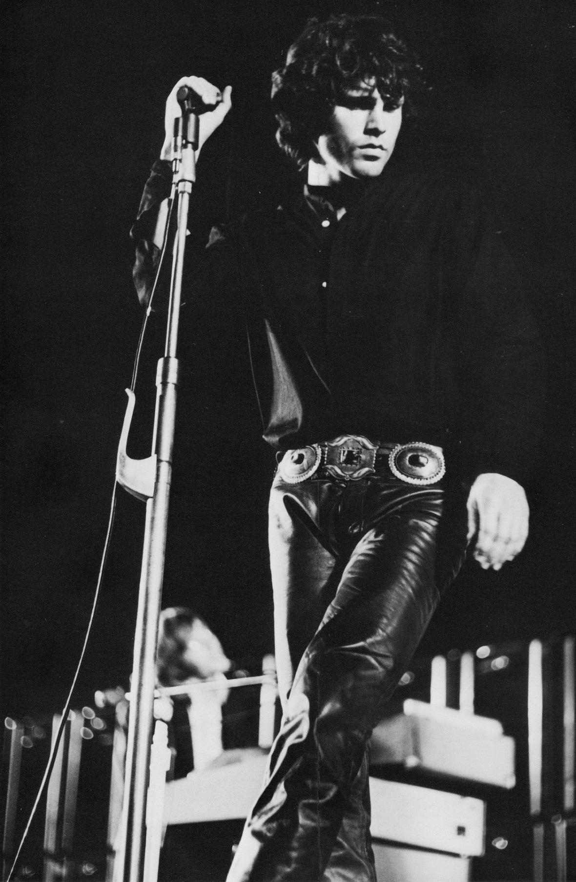 Jim Morrison Leather Pants- The Eye of Faith Vintage