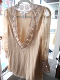 Diane Von Furstenberg Tunic Blouse- The Eye of Faith Vintage