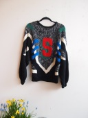 Vintage S Sweater - The Eye of Faith Vintage
