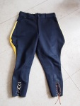 Navy Blue and Gold Johdpurs - The Eye of Faith Vintage