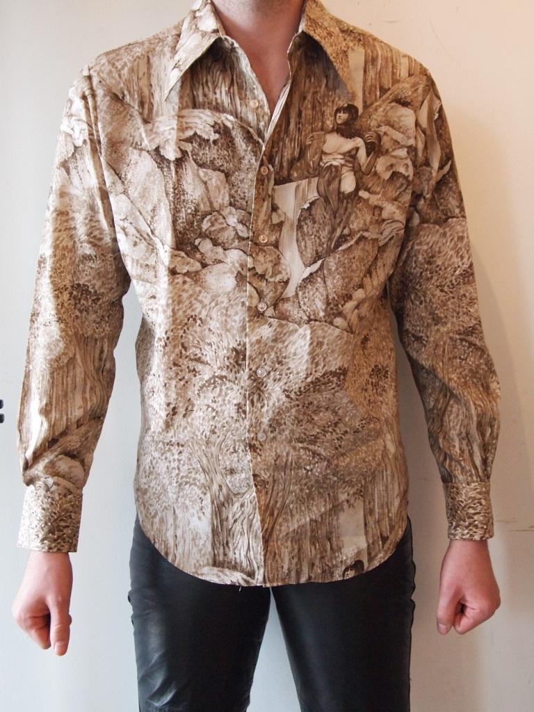 Birth of innocence - 1970s chemise et cie shirt from the eye of faith vintage