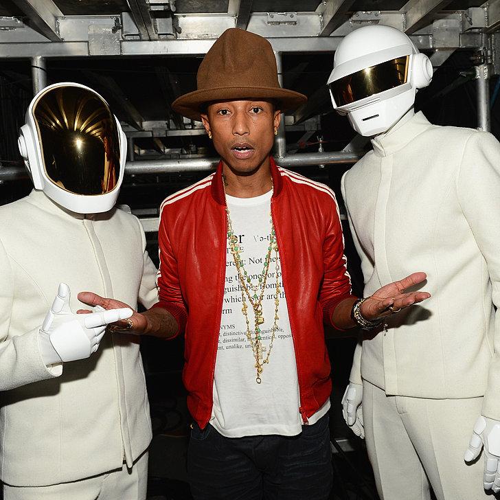 Pharrell-Williams-BIG HAT- Daft Punk - Grammysjpg