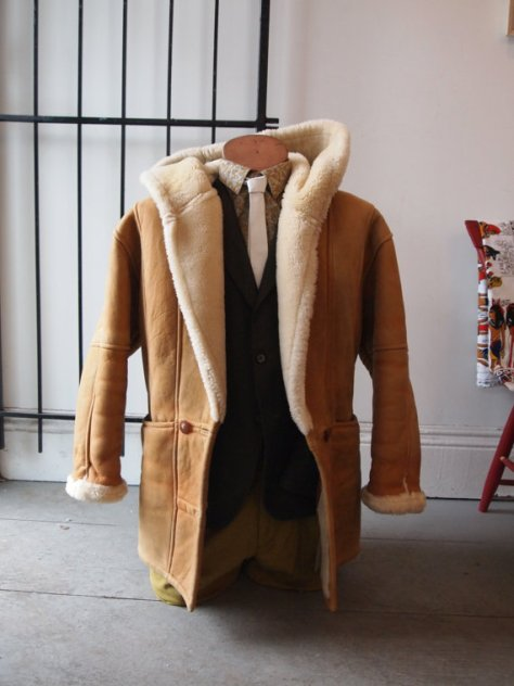 Shearling Coat- The Eye of Faith Vintage