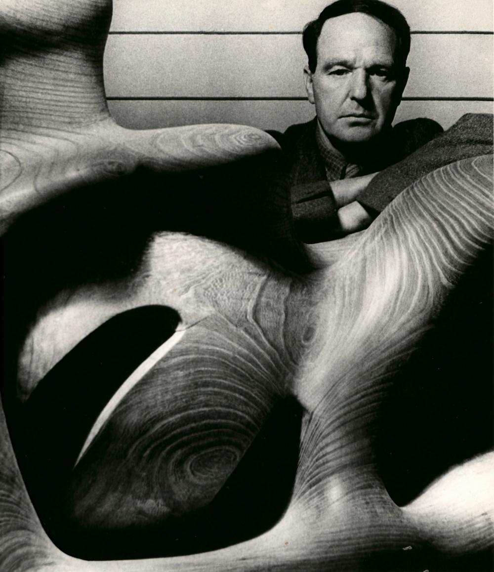 Brandt-Henry-Moore-in-Studio