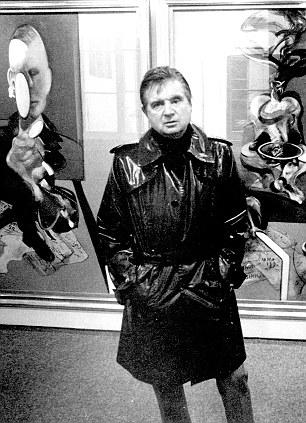 FANCIS BACON- Vintage menswear inspiration- PVC trench coat