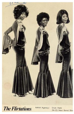 THE FLIRTATIONS- vintage style inspiration- music minute- nothing but a heartache - 1968- the eye of faith